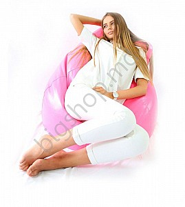 Банкетка Because Clasic Bean Bag - Pink XXL